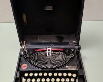 Remington Portable #1 Manual Typewriter c1925