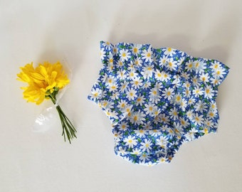 Bloomer•Diaper cover•summer•daisy•high waist•6 months•one year•12 months•18 months•cake smash•accessory• prop•baby girl•birthday•shower•
