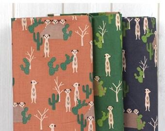 Meerkat in the Desert (3colours)