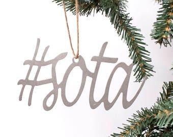 Minnesota Gifts / Minnesota Ornament / Ornament / Minnesota / #sota / Sota / Minnesota Gifts and Decor / Minnesota Sign