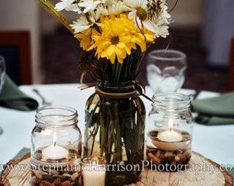 Wood Center Pieces