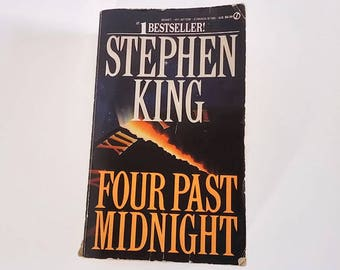 Four Past Midnight by Stephen King  Paperback  Horror