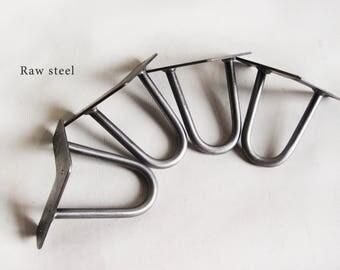 "4″ (10cm) Hairpin Legs. 3/8"" (10mm). Steel. Bed legs. Cabinet legs. Sofa legs. TV legs. Metal legs. Steel legs. SET OF 4"