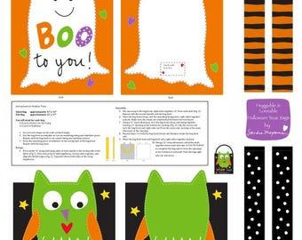STUDIOe Huggable & Loveable Holiday by Sandra Magsamen Trick or Treat Bag (#143)