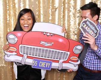 55 Chevy Extra Large Photo Booth Prop
