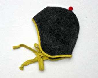 Woolen fleece hat