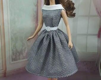 Made to Order- Vintage Barbie Doll Dress.
