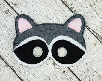 Summer Sale Raccoon Mask