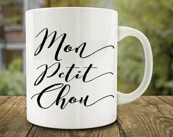 Mon Petit Chou Mug, French Love (C166)