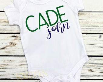 Baby Boy Coming Home Outfit, Personalized Name Outfit, Newborn, Boy Newborn Outfit, Baby Boy Outfit, Name Shirt, New Baby Boy, Shower Gift