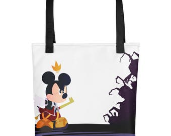 kingdom hearts Tote bag