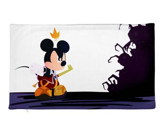 kingdom hearts Rectangular Pillow Case only