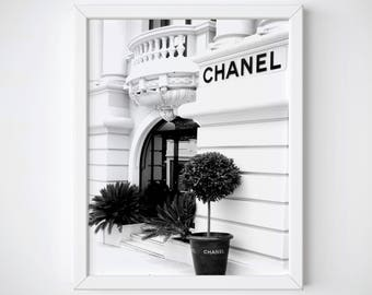Chanel Print • Chanel Poster • Chanel Fashion • Chanel Decor • Fashion Print • Coco Chanel Wall Art • Minimalist • Chanel wall decor