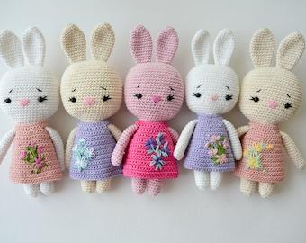 Crochet BUNNY, Pattern, PDF, English