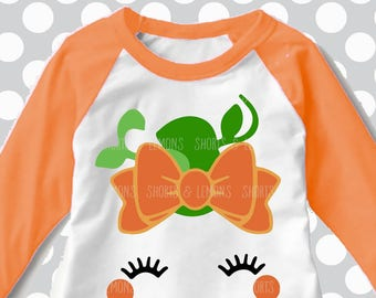 Cute Pumpkin svg, Halloween svg, Pumpkin face svg, eyelashes svg, SVG, DXF, Halloween cut file, girls svg, girls halloween shirt, iron on