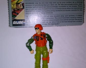 Vintage GI Joe Action Figure SKIDMARK  ***1980's-Early 1990's****** Check Out My other Listings