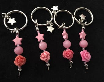 Rose Glow Keychain