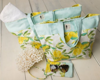 Custom Pool and Market Totes