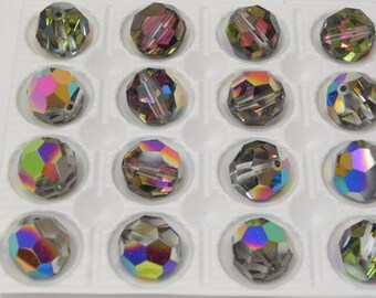 Swarovski 5000 Vitrail Medium 12mm Rare Vintage Crystal Beads (1 piece)