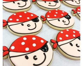 Ahoy Matey!  Pirate Sugar Cookies!