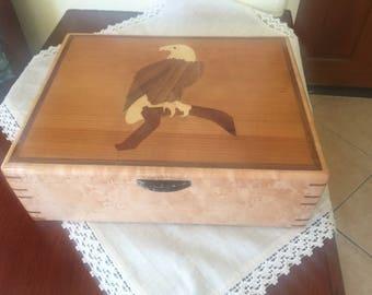 Eagle Humidor or Jewelry box
