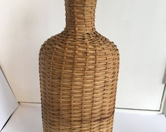 I have a number of different wicker covered bottles  some presumably used for holy water