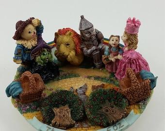 Miniature Wizard of Oz Figurine Set