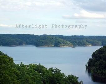 Landscape Photography of lakeview, Landscape Home Decor Print