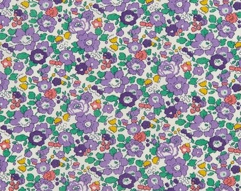 Betsy Ann A - Liberty of London Fabric - Tana Lawn Cotton