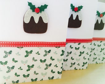 Christmas Pudding Cards