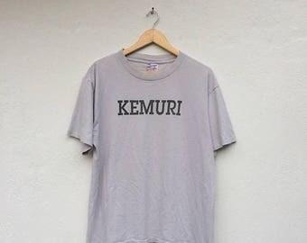 20% Off Vintage 1995 KEMURI Japanese-American Ska Punk X Vans Old Skool Band Tshirt