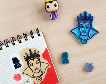 Evil Queen Rubber stamp/stepmother Seal Snow White