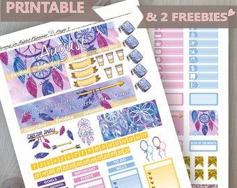 August Erin Condren Monthly Sticker Kit,August Printable Monthly sticker kit,August Printable Sticker,Summer Monthly sticker kit,August kit