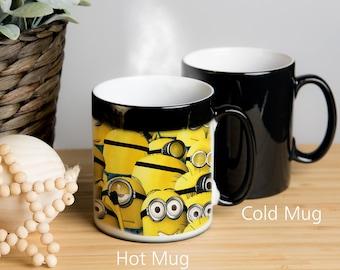 Despicable Me Minions Magic Color Changing Mug! Coffee mug, tea mug. Image Appears When Hot. 17