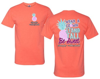 Pineapple - Volleyball T-shirt