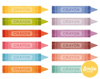 Crayon Clipart Illustration for Commercial Use | 0300