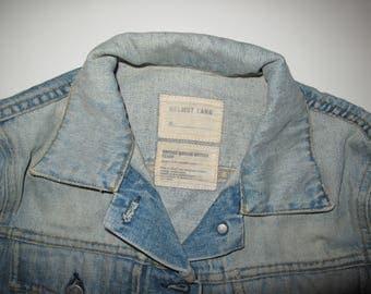 HELMUT LANG Archive Vintage Light Denim Jacket taglia. M, fantastic conditions