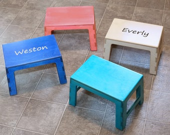 Step Up - Personalized Kids Stool