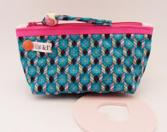 Purse quilted large format