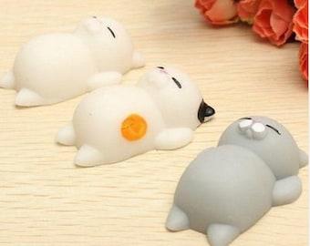 Cute Mochi Squishy Cat Squeeze Healing Fun Kids Kawaii kids Adult Toy Stress Reliever Decor Freeship