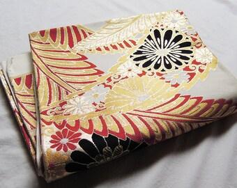 Vintage Japanese Kimono Obi/Fukuro obi/Embroidery obi/Japanese belt