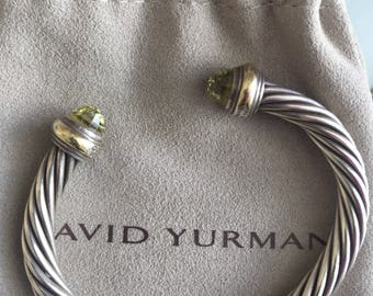 David Yurman 7 mm Citrine bracelet