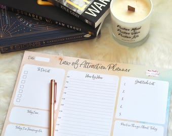 Law of Attraction Desk Planner A4 | Emma Mumford