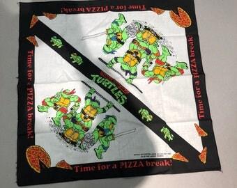 Vintage 1990 Teenage Mutant Ninja Turtle Bandana