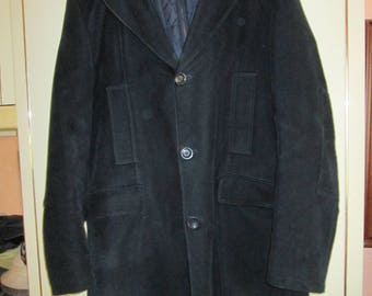 Burberry cotton coat with detachable body warmer