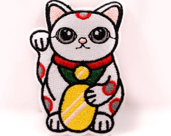 Lucky Cat Thermo-Adhesive patch