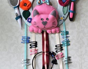Wall Hair Accessories Holder / Organiser/ Hair clip holder