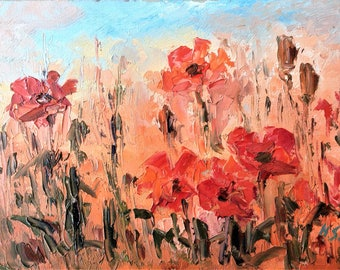 Flowers - Oil Painting-Original Art