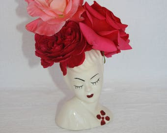 Betty Grable Ceramic Head Vase