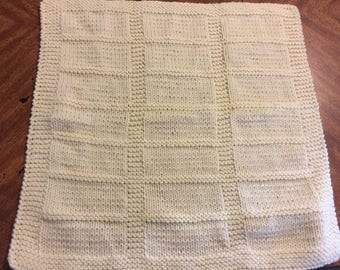 Blocks Baby Car Seat Blanket--Ready to Ship